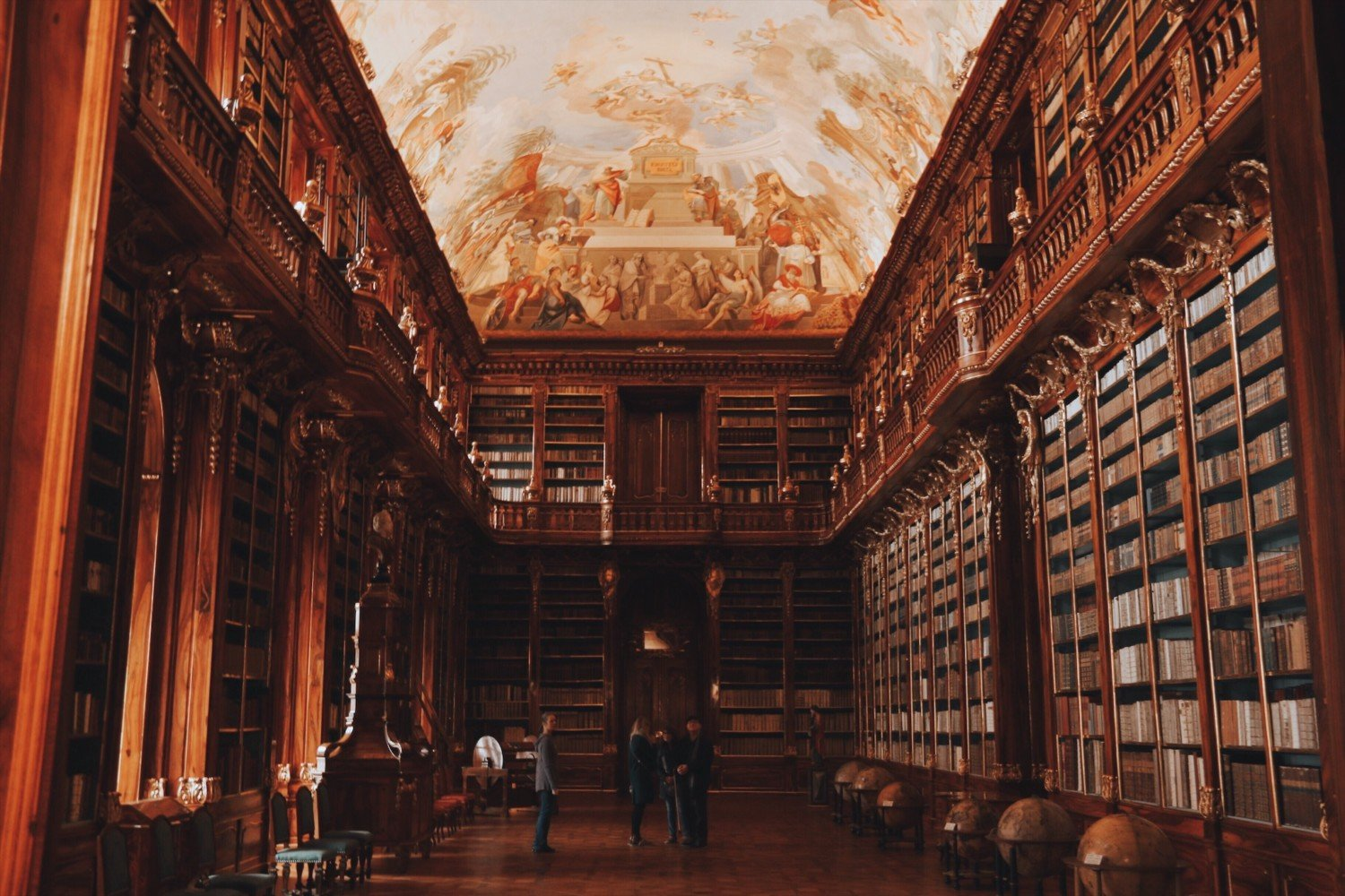 A biblioteca mais linda do mundo