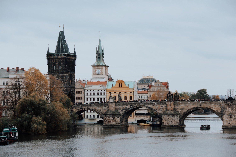 Ponte Carlos em Praga - A ponte mais linda da cidade