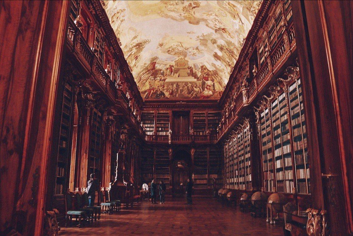 A biblioteca mais linda do mundo