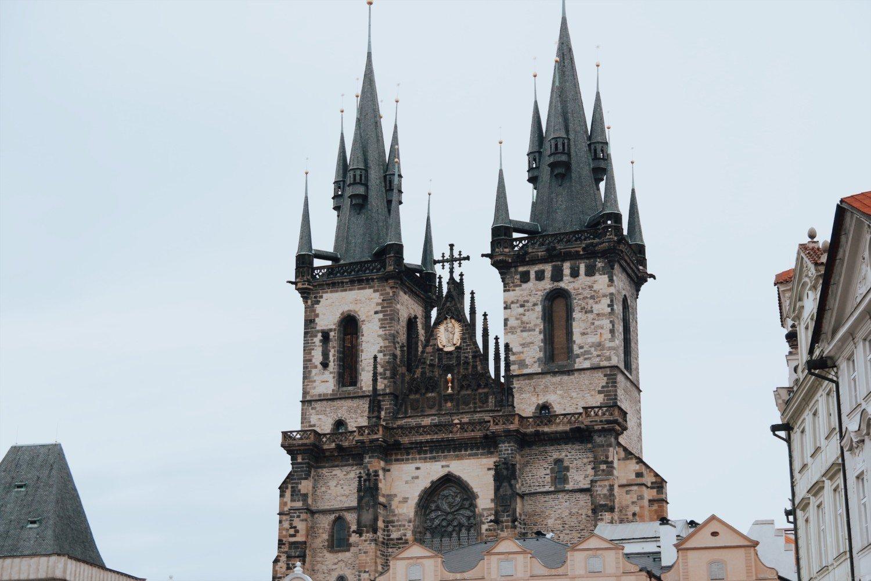 Catedral de Tyn em Praga