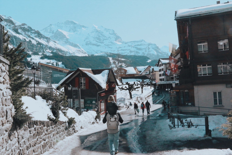 Wengen na Suíça