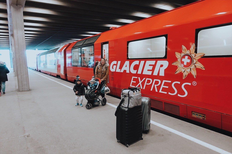 Glacier Express - O trem panorâmico mais famoso da Suíça