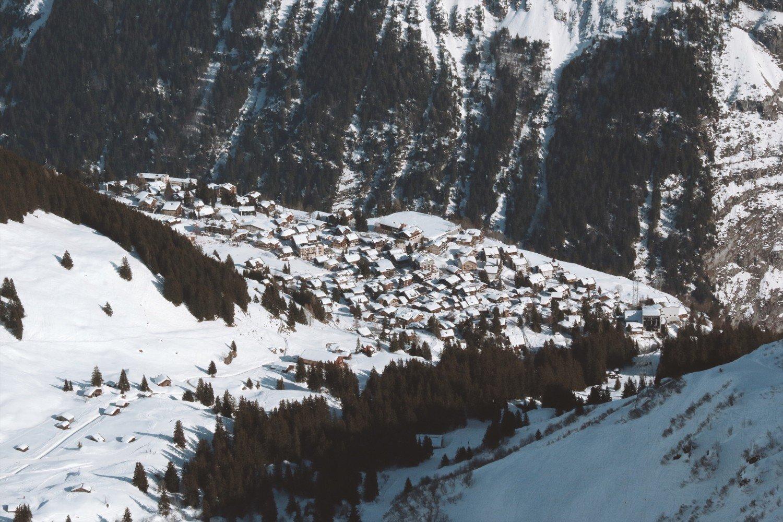 Murren - Lauterbruunen / Suíça