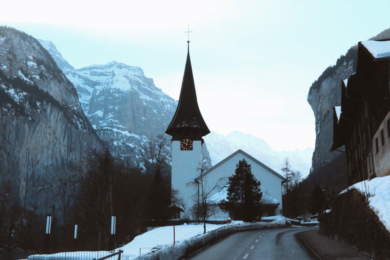 Lauterbrunnen na Suíça