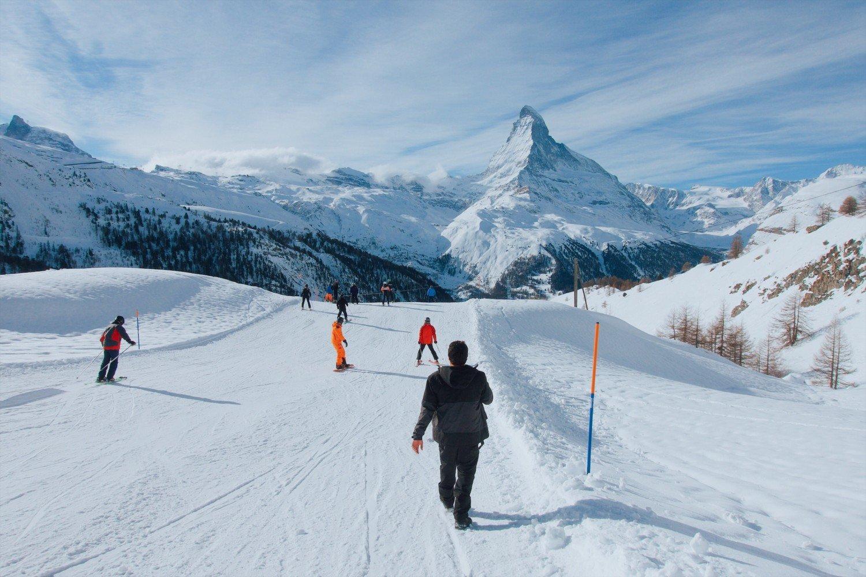 Matterhorn em Zermatt na Suíça