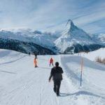 Zermatt com crianças