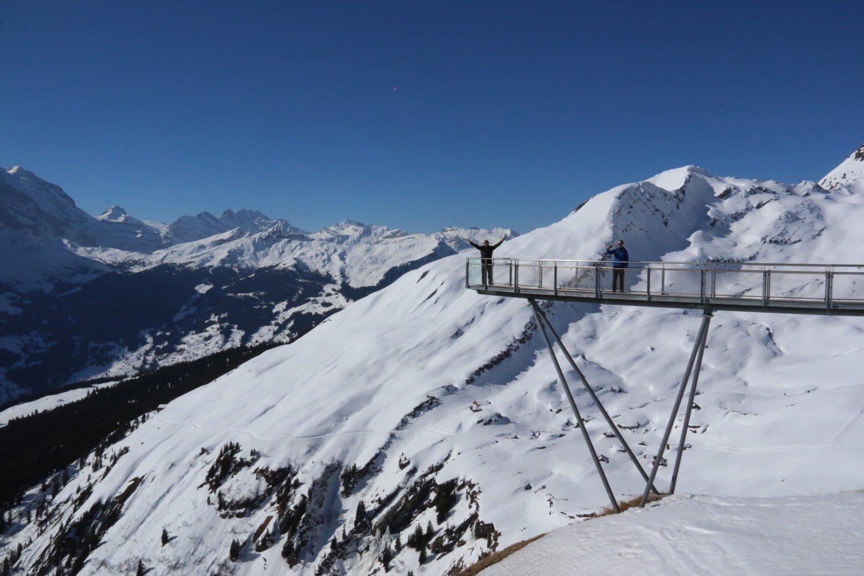 Grindelwald First na Suíça