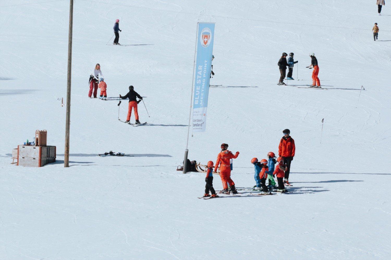 Suíça com crianças