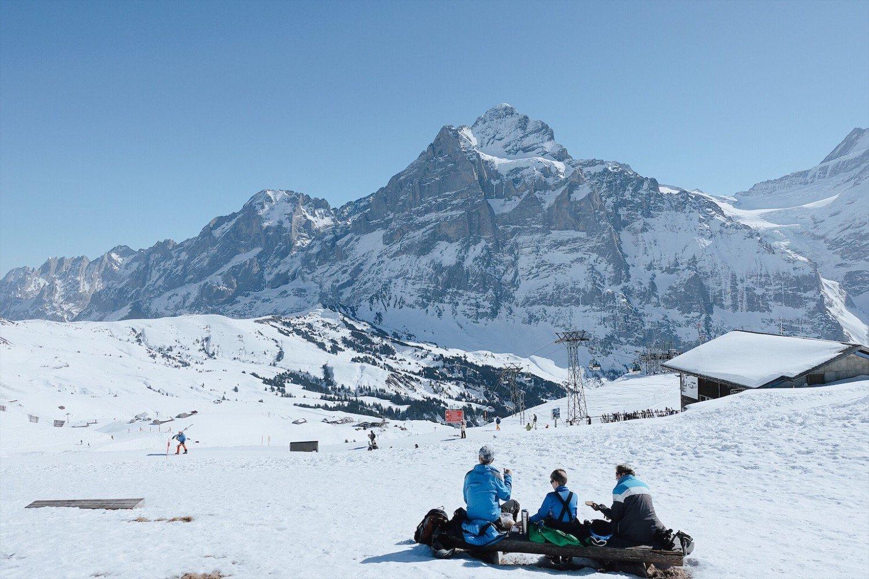 Grindelwald na Suíça