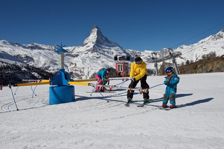 Zermatt para crianças