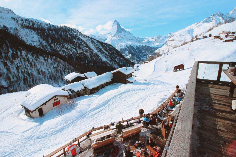 Restaurante Chez Vrony em Zermatt