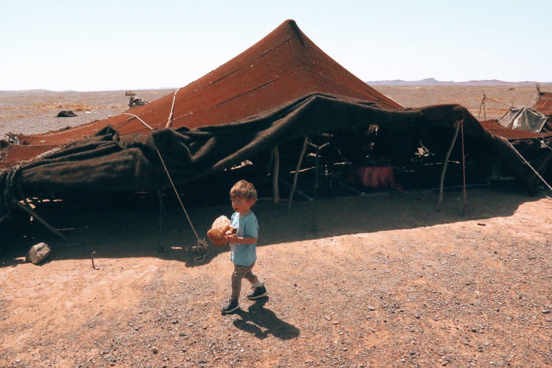 Acampamentos no deserto do Saara- Marrocos