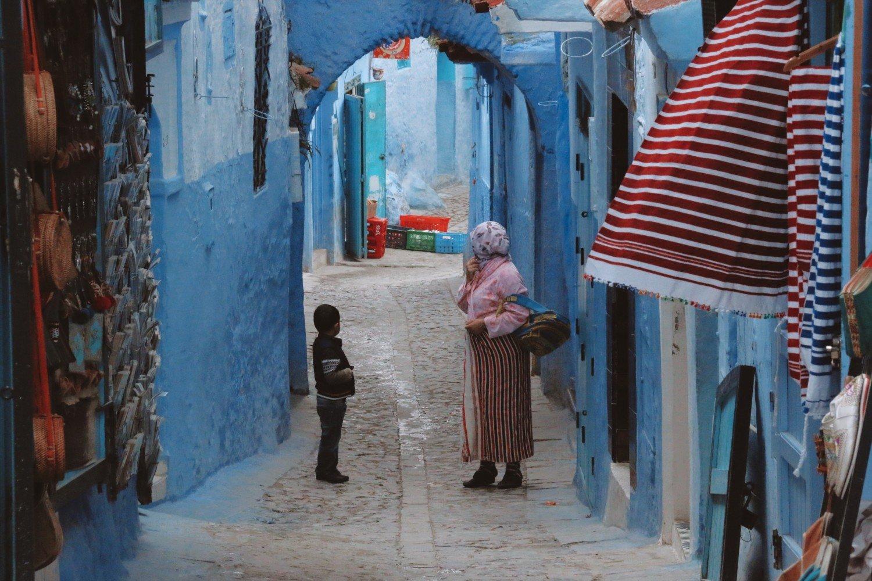 Chefchaouen no Marrocos