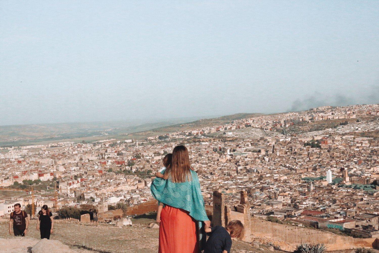 Cidade de Fez no Marrocos